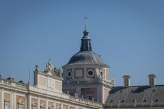 Royal Palace of Aranjuez in Madrid. A historic Royal Palace of Aranjuez in Madrid Spain Stock Photography