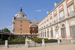 The Royal Palace of Aranjuez. Madrid (Spain). The Royal Palace of Aranjuez in Madrid (Spain Royalty Free Stock Photography