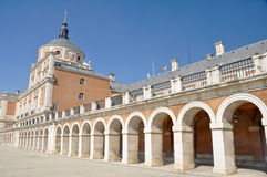 The Royal Palace of Aranjuez. Madrid (Spain). The Royal Palace of Aranjuez in Madrid (Spain Stock Image