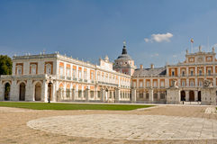The Royal Palace of Aranjuez. Madrid (Spain). The Royal Palace of Aranjuez in Madrid (Spain Stock Images