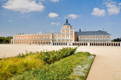 The Royal Palace of Aranjuez. Madrid (Spain). The Royal Palace of Aranjuez in Madrid (Spain Stock Photo