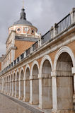 The Royal Palace of Aranjuez. Madrid (Spain) Stock Photography
