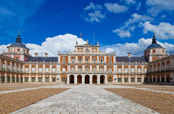 Royal Palace of Aranjuez, Madrid Royalty Free Stock Images