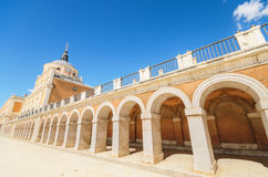 The Royal palace of Aranjuez. Madrid, Spain. The Royal palace of Aranjuez, Madrid, Spain Stock Images