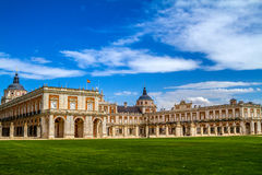 Royal Palace of Aranjuez. Madrid, Spain Stock Images