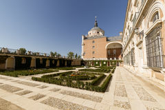 Royal Palace of Aranjuez. Madrid, Spain. Horizontal shoot Stock Photography