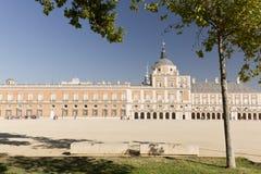 Royal Palace of Aranjuez. Aranjuez, Madrid, Spain. October 9, 2016: Royal Palace of Aranjuez province of Madrid in Spain Royalty Free Stock Photo