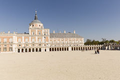 Royal Palace of Aranjuez. Aranjuez, Madrid, Spain. October 9, 2016: Royal Palace of Aranjuez province of Madrid in Spain Royalty Free Stock Images