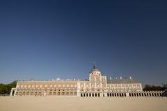 Royal Palace of Aranjuez. Aranjuez, Madrid, Spain. October 9, 2016: Royal Palace of Aranjuez province of Madrid in Spain Royalty Free Stock Photos