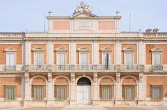 Royal Palace Aranjuez, Madryt Hiszpania Zdjęcia Stock