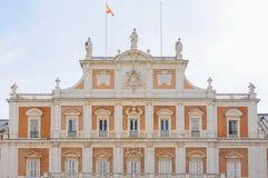 Royal Palace Aranjuez, Madryt Hiszpania Zdjęcie Royalty Free