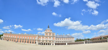 The Royal Palace of Aranjuez. One of the Spanish royal sites, located in the town of Aranjuez, Community of Madrid, Spain Royalty Free Stock Photos