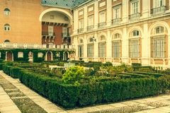 Royal Palace of Aranjuez, a residence of the King of Spain, Aran Stock Photography
