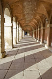 Royal Palace in Aranjuez - Spain. Archway of Aranjuez Palace in Spain Stock Images
