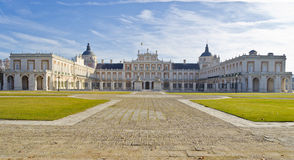 Royal Palace in Aranjuez - Spain Royalty Free Stock Photography