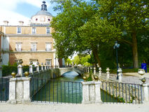 Royal Palace Aranjuez. In Spain Stock Photos