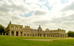 Royal Palace of Aranjuez. In Spain Stock Photography