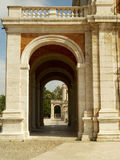 Royal Palace of Aranjuez. In Spain Stock Image