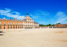 Royal Palace of Aranjuez, Spain Royalty Free Stock Photography