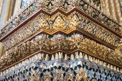 Royal Palace arkitektur i Bangkok Royaltyfri Foto