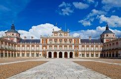Royal Palace av Aranjuez, Madrid Royaltyfria Bilder