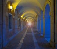 Royal Palace av Aranjuez (verkliga Palacio). Arkivfoto