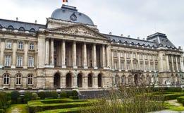 Royal Palace av Bryssel, Belgien Koninklijk Paleis, Palais Royal de Bruxelles Fotografering för Bildbyråer