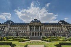 Royal Palace av Bryssel i Belgien Royaltyfria Bilder