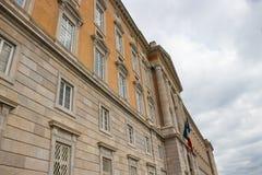 Royal Palace av Caserta, den största Royal Palace i världen arkivfoton