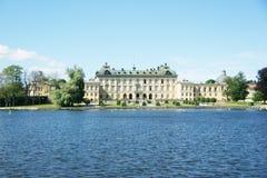 Royal Palace av Drottningholm Arkivfoton