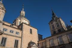 Royal Palace av La Granja Royaltyfria Foton