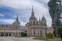Royal Palace av La Granja de San Ildefonso, Spanien Royaltyfri Bild