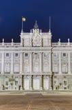 Royal Palace av Madrid, Spanien Royaltyfri Bild