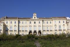 Royal Palace av Portici i Italien arkivbilder