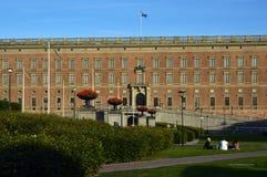 Royal Palace av Stockholm i den gamla staden Gamla Stan, Stockholm, Sverige Arkivbild