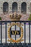 Royal Palace av Sverige Arkivbild