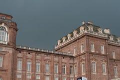 Royal Palace av Venaria, Turin, Italien Royaltyfri Foto