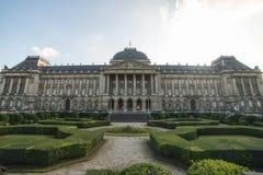 Royal Palace, Bélgica, Bruxelas fotografia de stock
