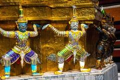 In the Royal Palace of Bangkok Royalty Free Stock Photography