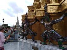 The Royal Palace in Bangkok stock photo
