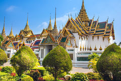 Royal Palace Bangkok Thailand. In the Royal Palace of the Great Palace Bangkok Thailand Royalty Free Stock Photography