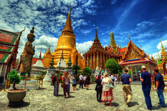 The Royal Palace in Bangkok,Thailand Stock Photography