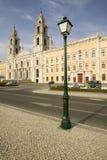 Royal Palace barroco monumental de Mafra, Portugal, construido en 1717 Fotografía de archivo