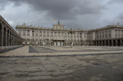 The royal palace Stock Photography