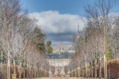 Royal Palace bei San Ildefonso, Spanien Stockfotos
