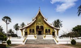 Royal Palace (biancospino Kham) & colpo di Pha del biancospino in Luang Prabang, Laos. Immagini Stock