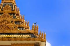 Royal Palace and Bird Royalty Free Stock Photography