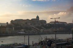Royal Palace Boedapest stock fotografie
