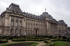 Royal Palace in Brüssel Lizenzfreies Stockfoto