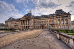 Royal Palace in Brussel Stock Foto